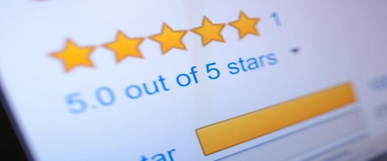 5 star online reviews