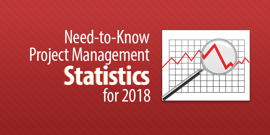 need-to-know project management statistics for 2018