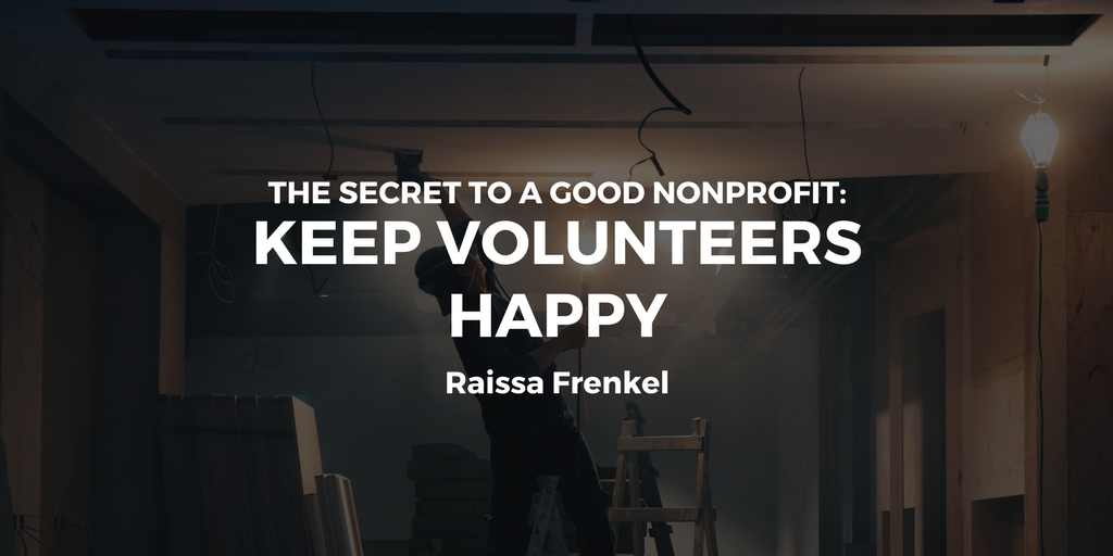 Raissa frenkel e2 80 94the secret to a good nonprofit