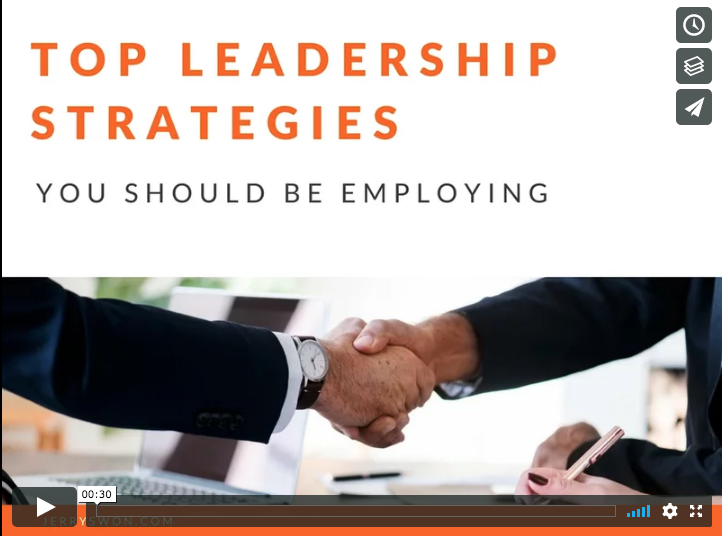 Jerry swon   top leadership strategies on vimeo