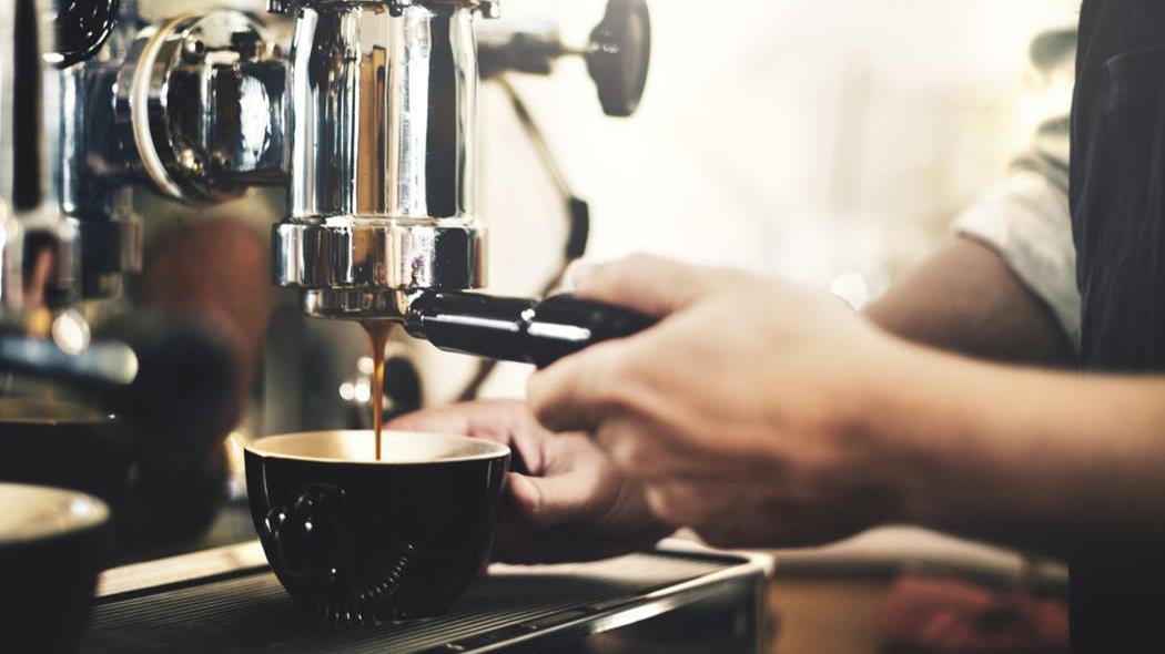 Wellington coffee machine