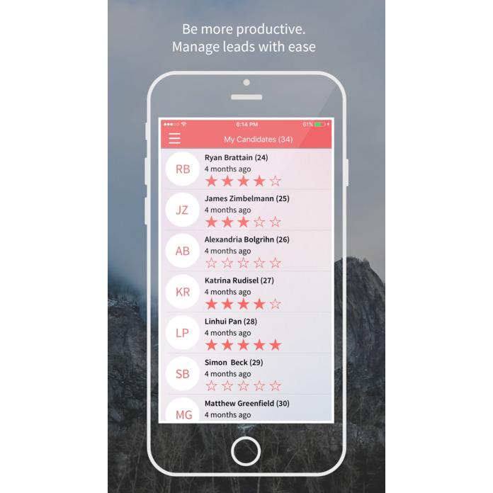 Rakuna app ratings screenshot