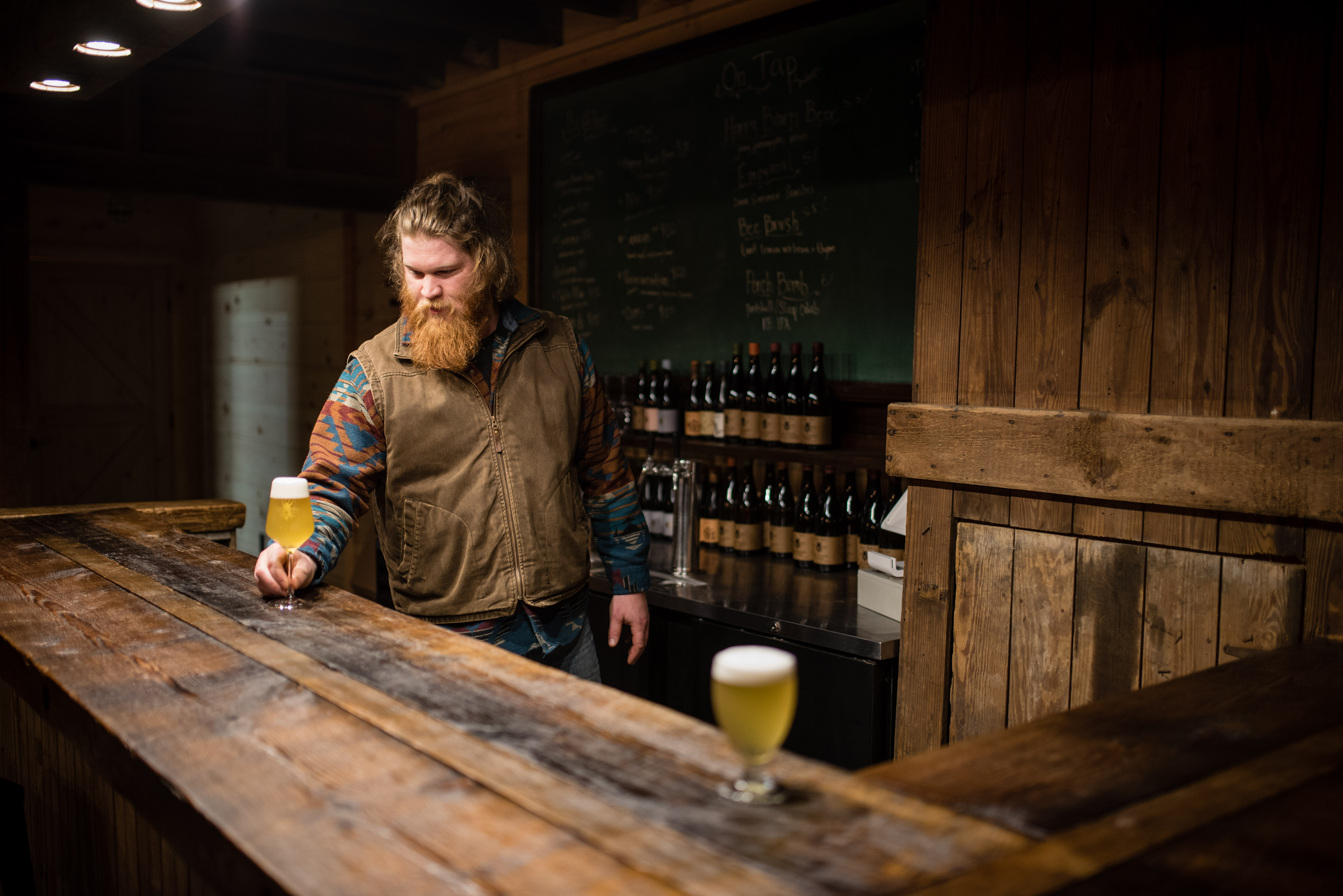 29 plan bee brewery photographed by derek dellinger