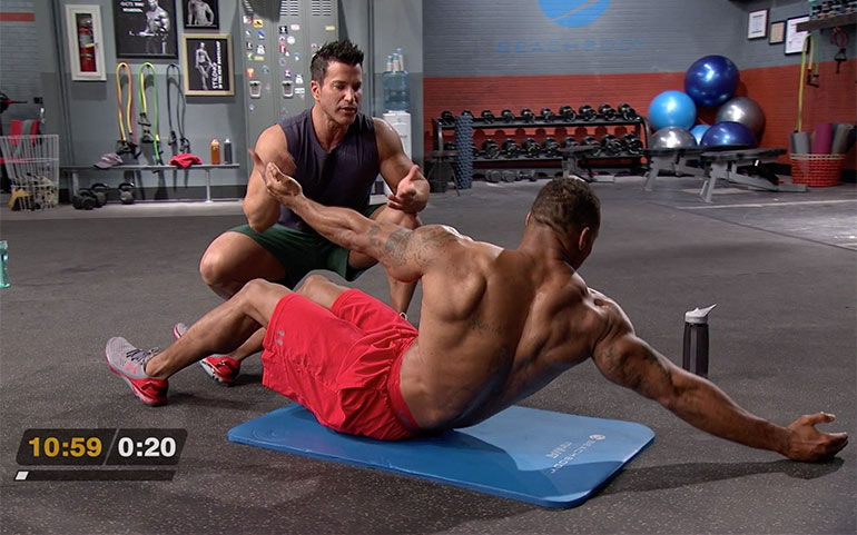 15 of the Best Core Exercises From Beachbody Programs C Sit Tap