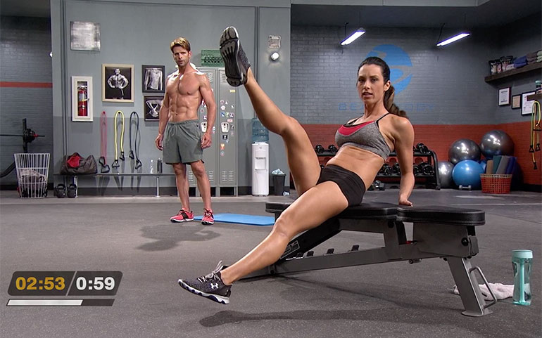 15 of the Best Core Exercises From Beachbody Programs C Sit Scissor