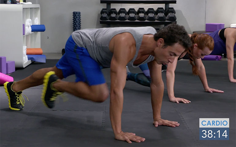 15 of the Best Core Exercises From Beachbody Programs Mountain Climber With Push Up