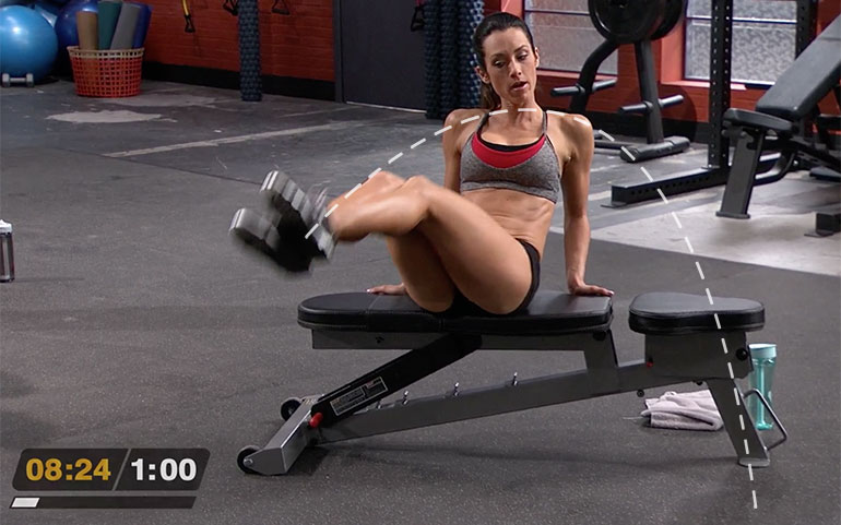 15 of the Best Core Exercises From Beachbody Programs Seated Rainbow