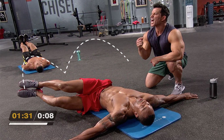15 of the Best Core Exercises From Beachbody Programs Windshield Wiper