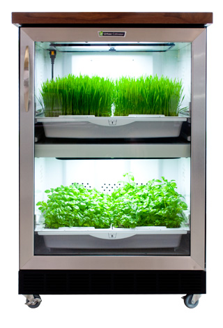 Hydroponic Kitchen Island