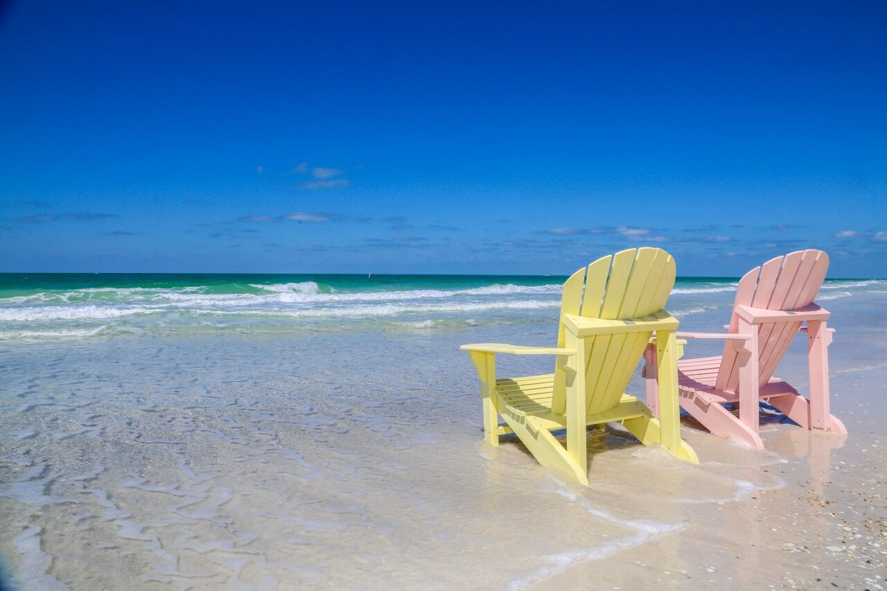 Anna maria island beach chairs