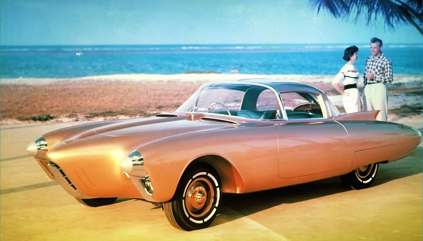 The Most Fascinating Concept Cars Of 50s And 60s 1950s American Oldsmobile Was An Unusually Forward Thinking Gm Division In Golden Rocket Car A Truly Ambitious Exercise