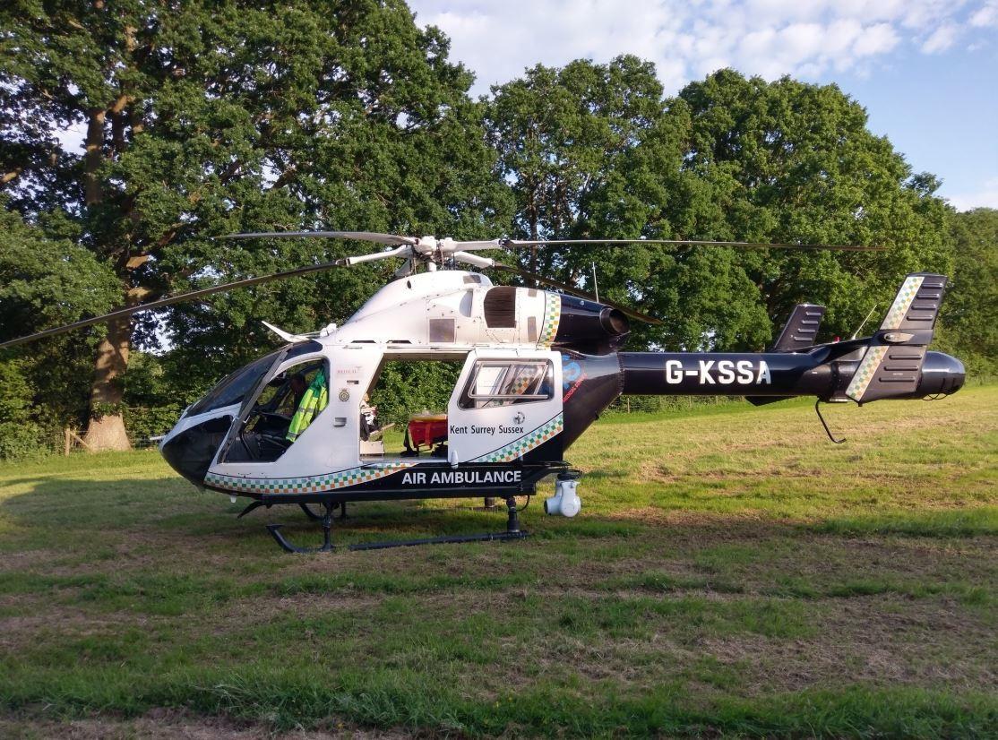Ecsimga21 crash near flimwell 2 969990967857508064