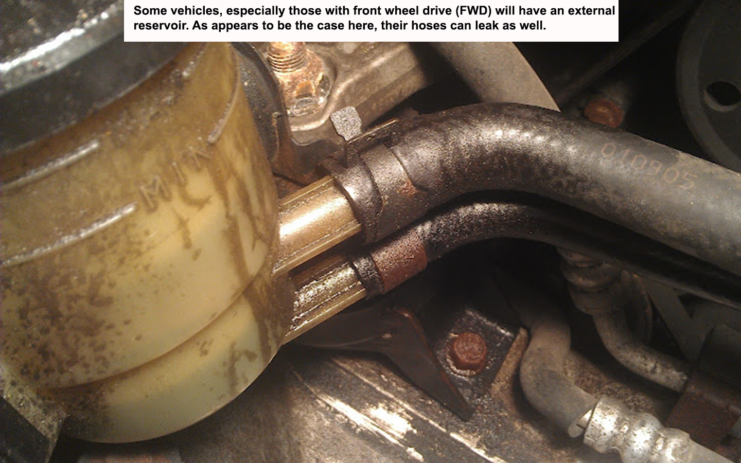 How to Replace a Failed Power Steering Hose or Pump