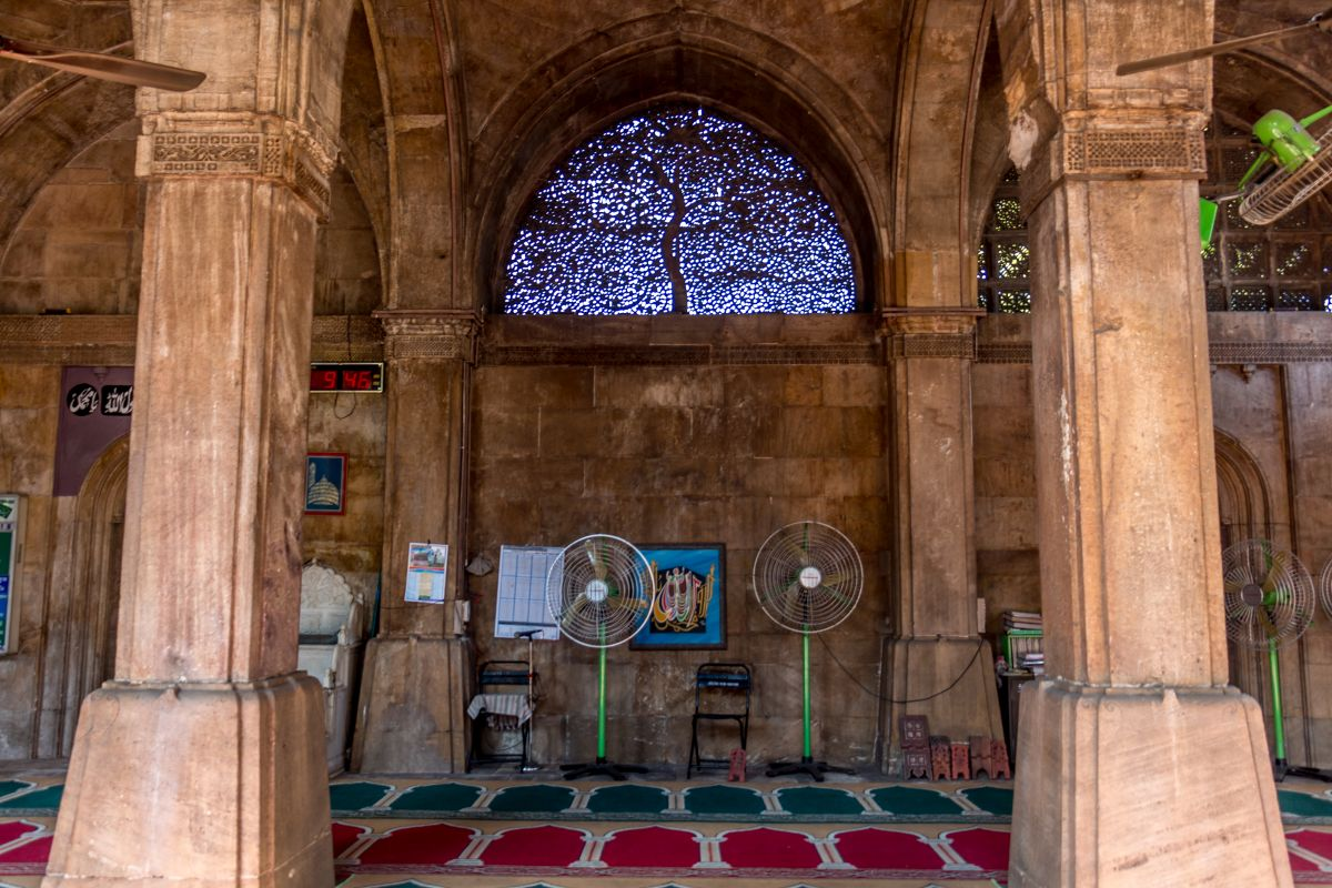 The tree of life at  sidi sayed is truly the eyecatcher in the mosque