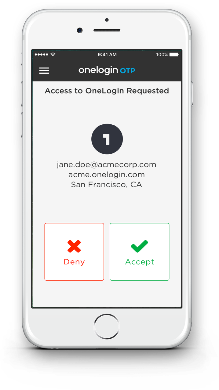 "Onelogin's multi-factor ""adaptive authentication"