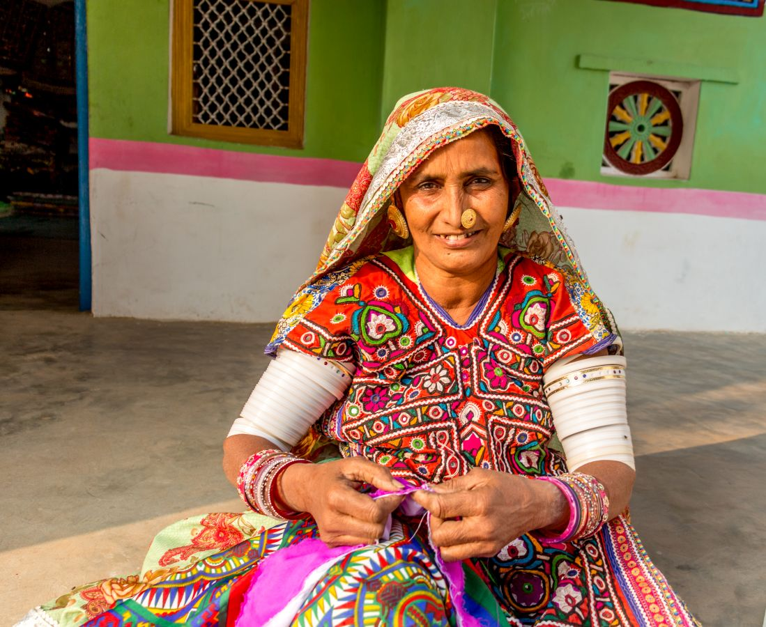The strong women of kutch