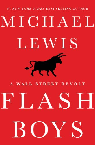 The front cover of Flash Boys
