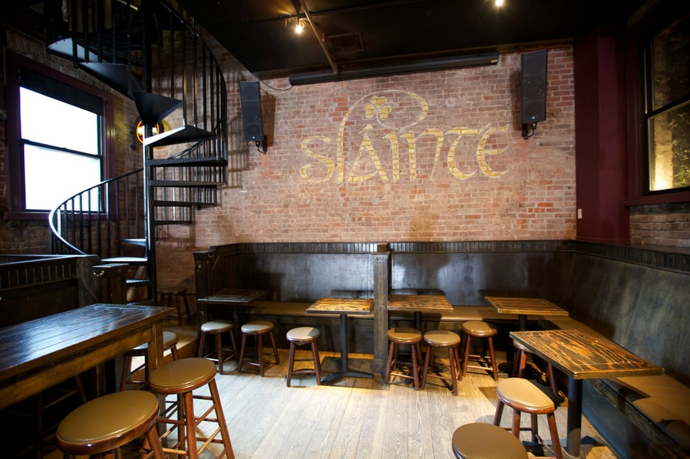 Slainte bar, Bowery, Manhattan
