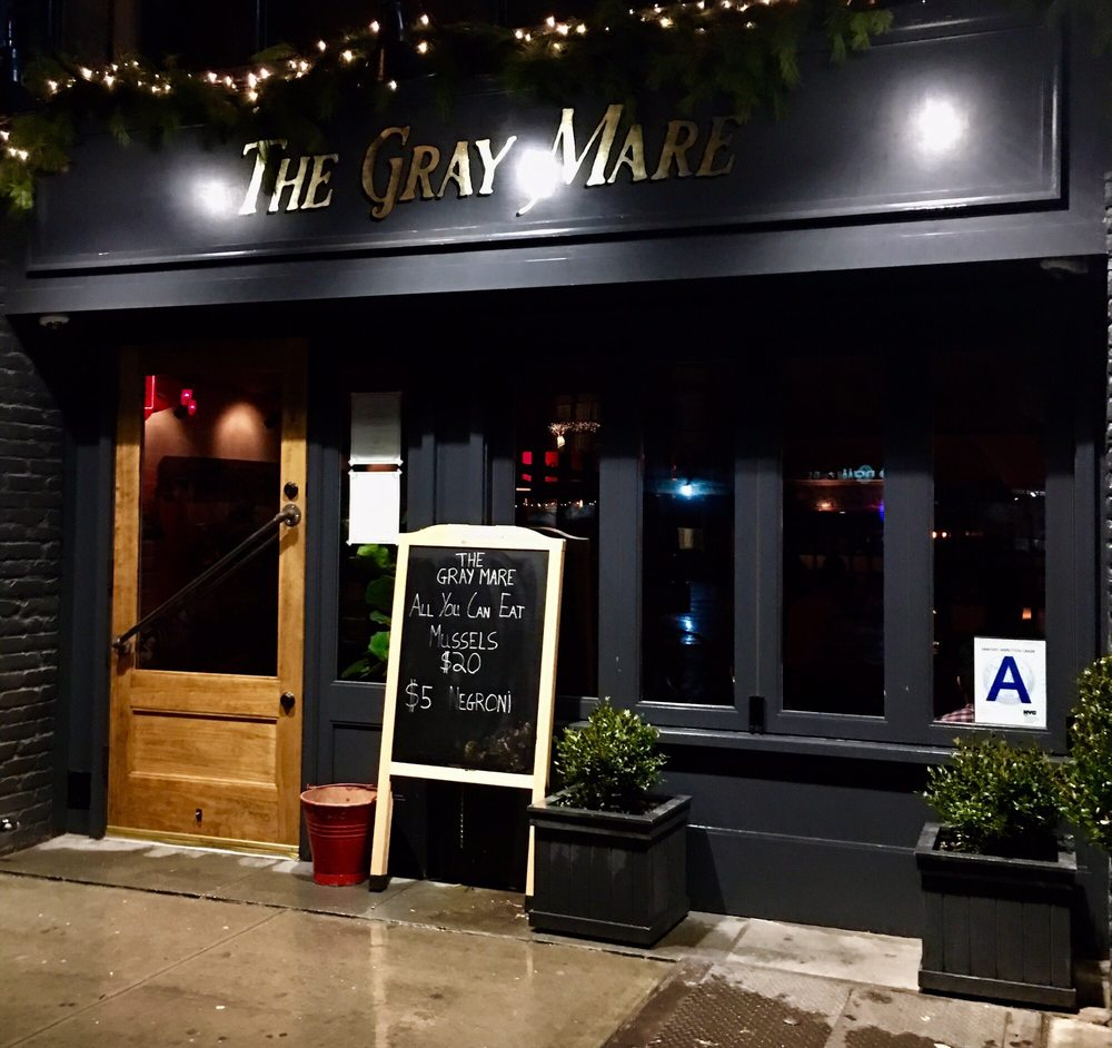The Gray Mare bar, East Village, Manhattan