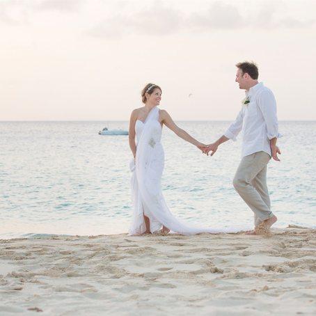 frangipani newlyweds