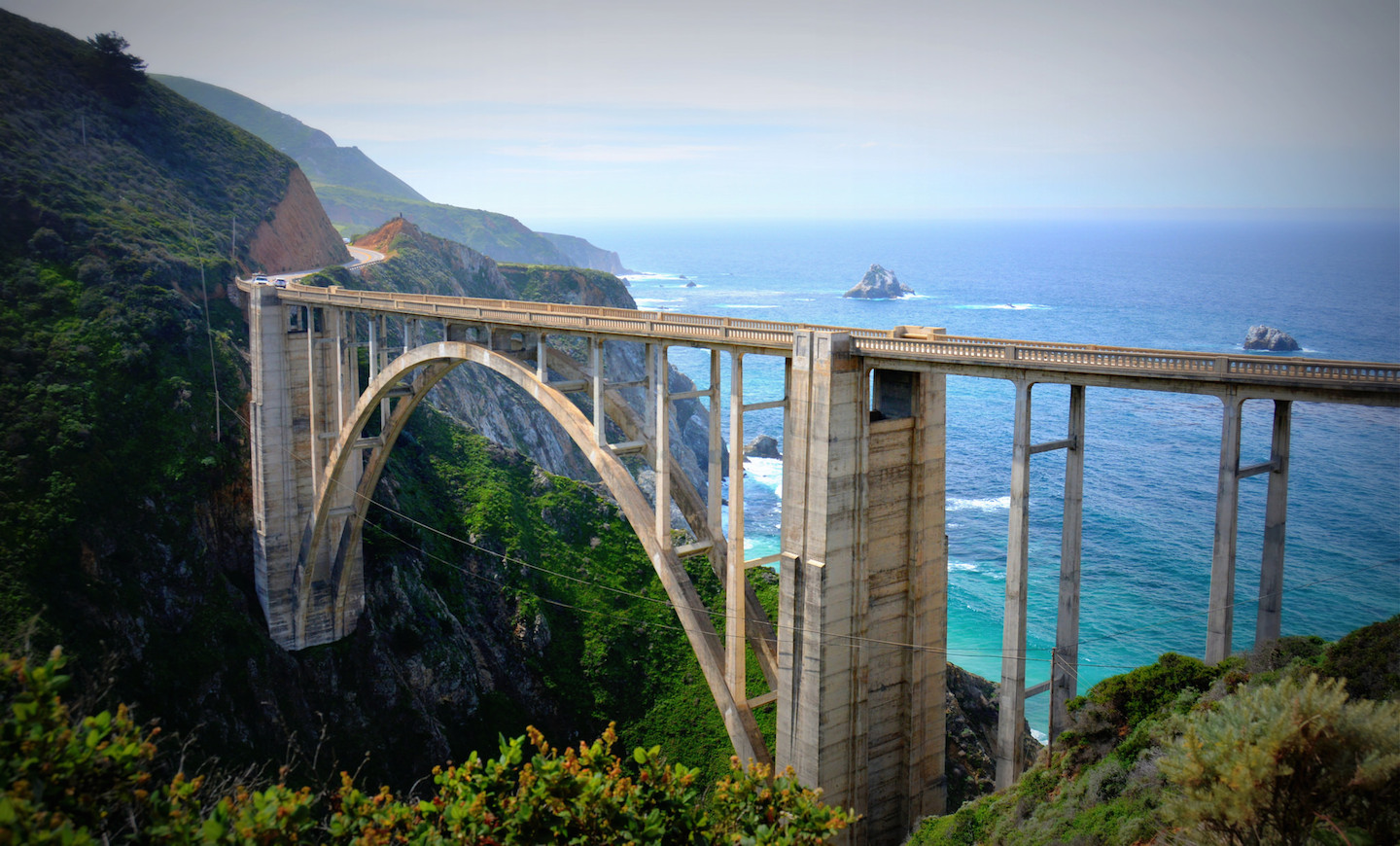 The Bixby Bridge in Big Sur, Calif.