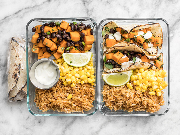 Sweet Potato Taco Meal Prep Dinner Recipe