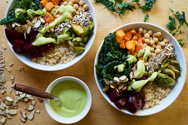 Winter Superfoods Easy Meal Prep Lunch Bowl