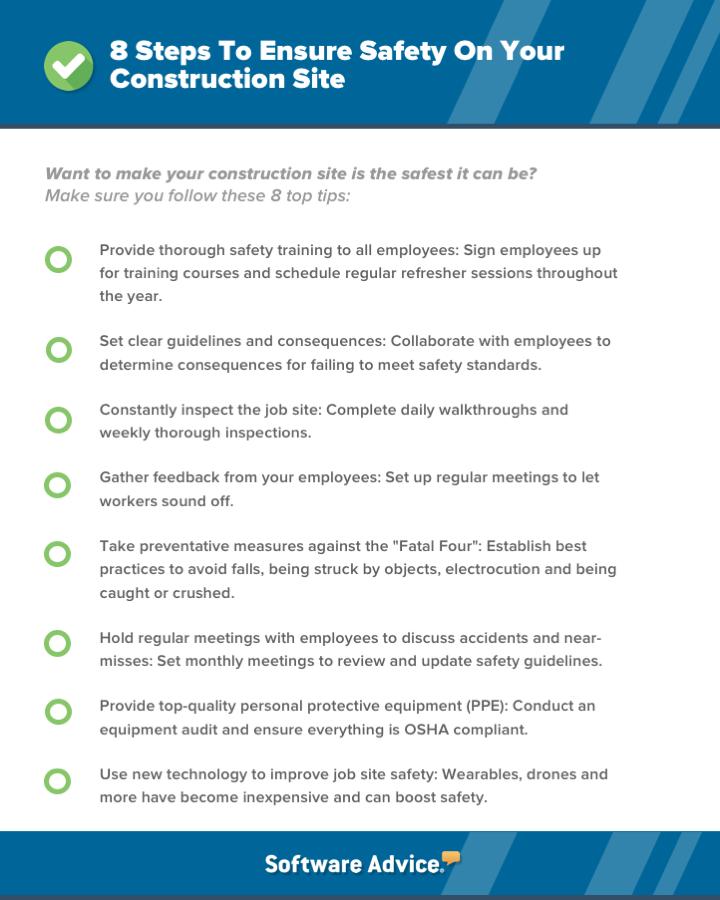 construction safety checklist