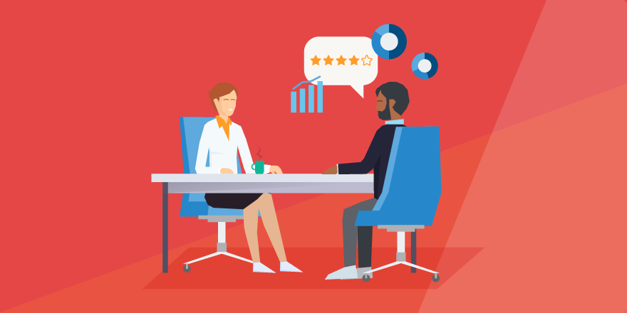 header image: Annual Performance Reviews Aren't Dead, but They Do Need New Life