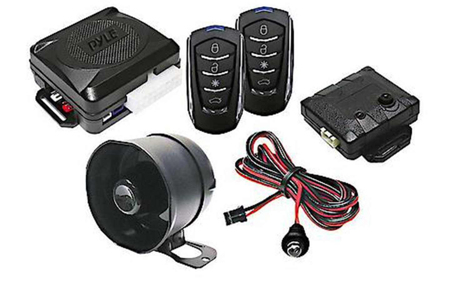 How to Install the Pyle 4 Button Car Security System with Remote Entry | Pyle Keyless Entry System Wiring Diagram |  | Advance Auto Parts