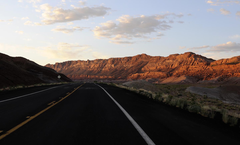 Road at the Grand Canyon