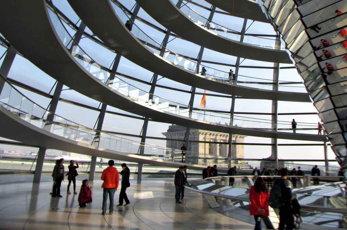 Cupola del Reichstag - Foto di Simona Scacheri