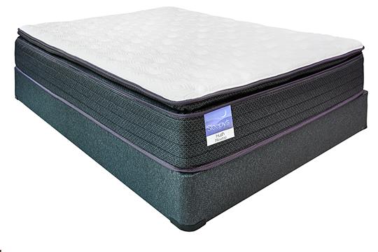 "Sleepy's Reserve 15.5"" Pillow Top Encased Coil Mattress"