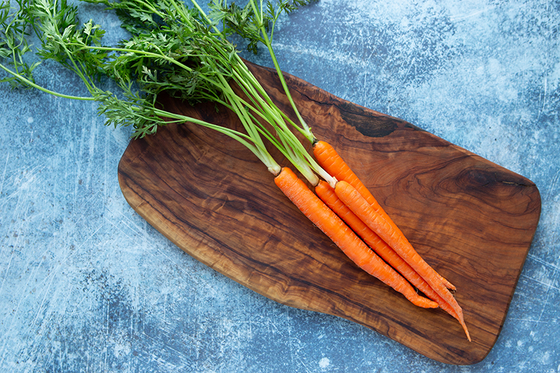 100 calories of vegetables - carrots