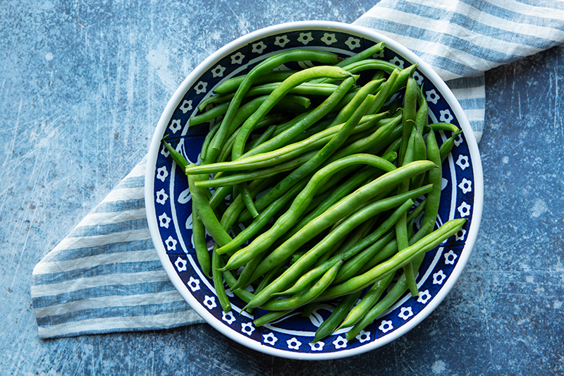 100 Calories of Vegetables - Green Beans
