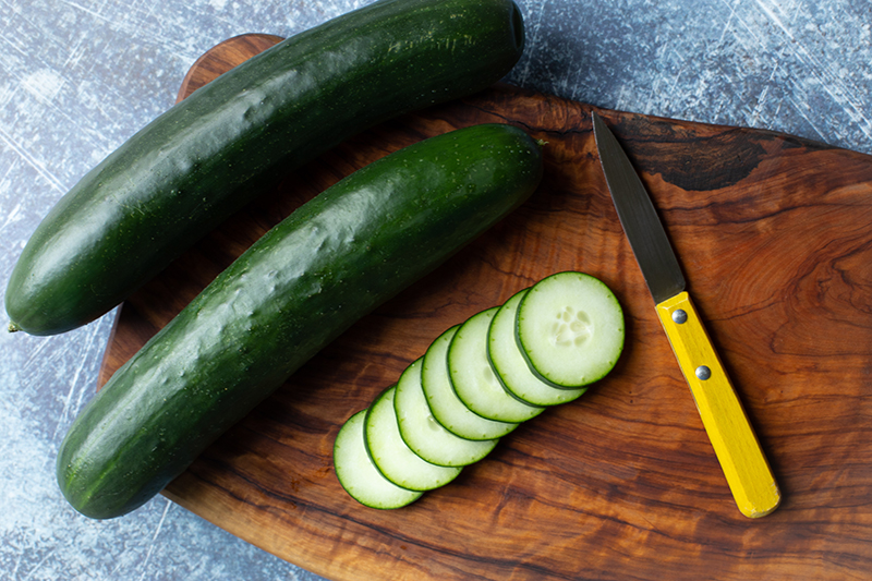 100 Calories of Vegetables - Cucumber