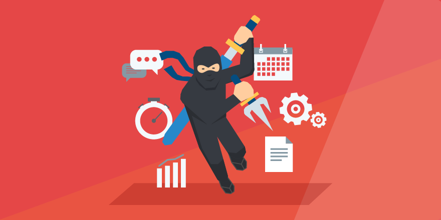 header image for 'How to Turn Your Staff Into Project Ninjas by Improving Project Management Skills'