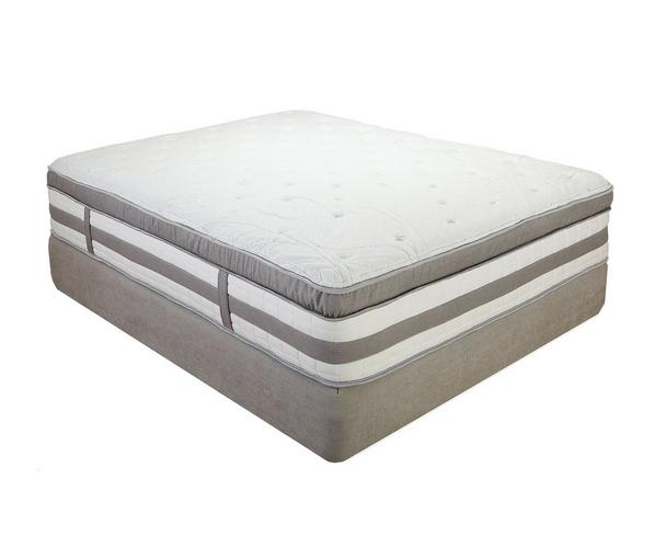 "Hampton and Rhodes San Martin 12"" Plush Hybrid Mattress"