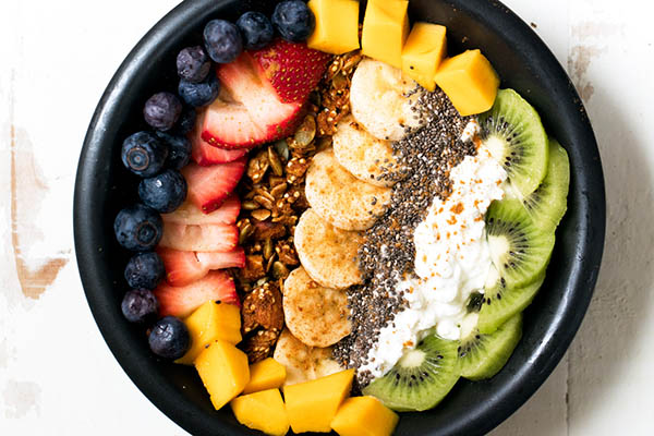 Protein Packed Rainbow Cottage Cheese Breakfast Bowls