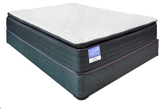 Sleepy's Slumber 13.5″ Pillow Top Encased Coil Mattress