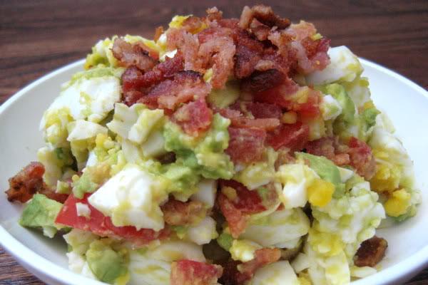 leftover-hard-boiled-egg-recipes-bacon-salad