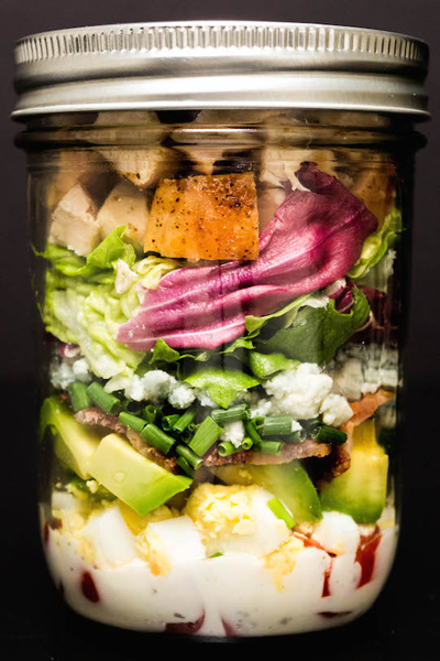 leftover-hard-boiled-egg-recipes-mason-jar-cobb-salad