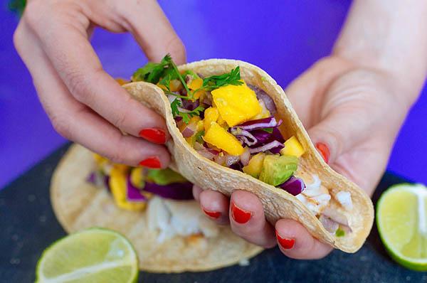 Grilled Tilapia Tacos Salsa Recipe