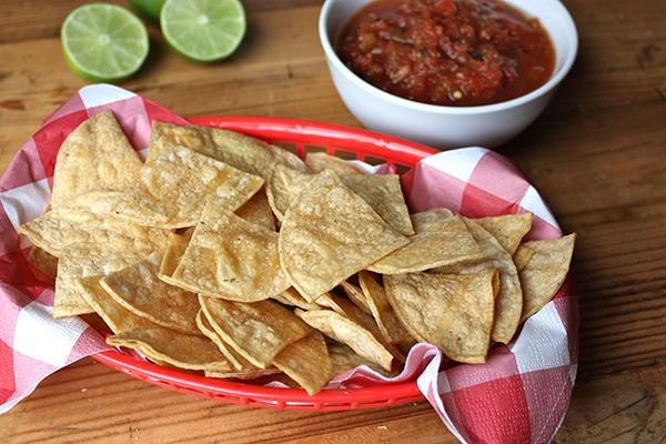 Baked Corn Tortilla Chips Recipe