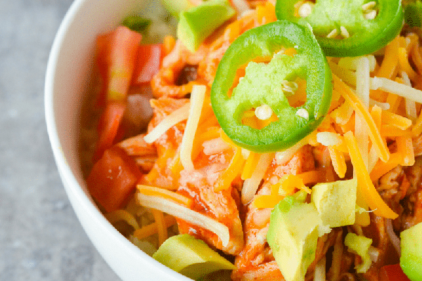 Chicken Enchilada Bowl Recipe