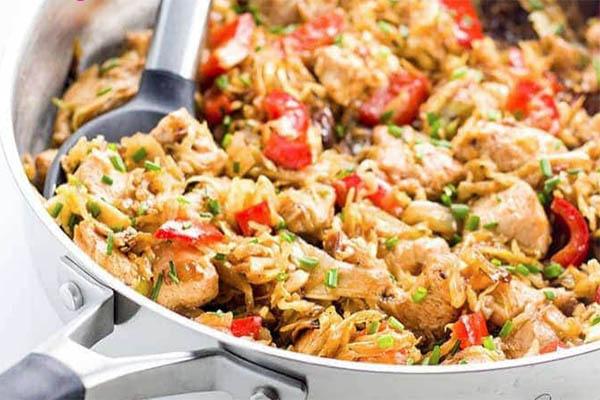 Chicken and Cabbage Stir Fry Recipe
