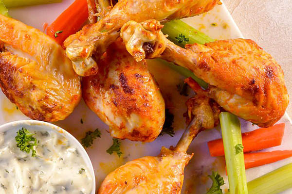 Air Fryer Buffalo Chicken Legs Recipe