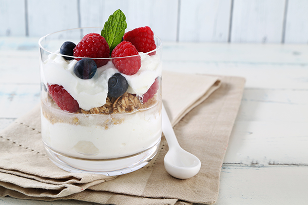 Yogurt Berry Parfait Recipe