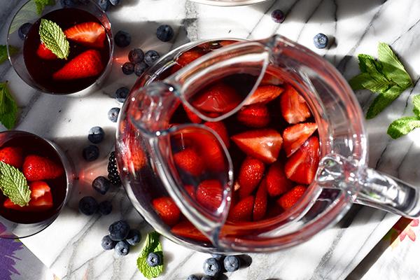 Tripple Berry Sangria Recipe
