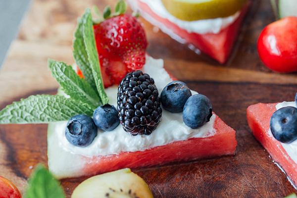 Watermelon Fruit Pizza Recipe